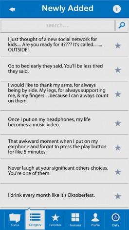 Funny Facebook Status ...