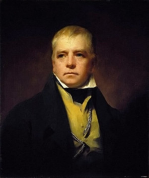 Sir Walter Scott, the popular 19th-century novelist, was the first man ...