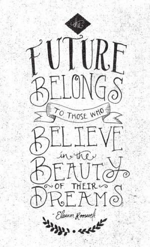 Make your dreams come true...