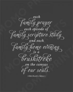 ... Quotes, Elder David, Lds Family Quotes, Canvas, Soul Quotes, Elder
