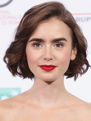 Actress Lily Collins puts on an English accent in her new movie Love ...