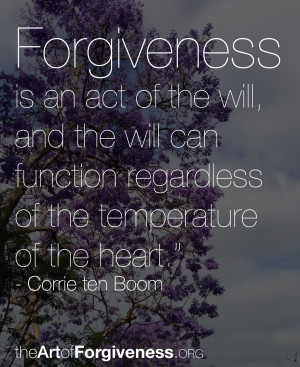 ... Forgiveness is the only way to dissolve that link and get free
