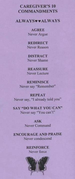 Caregiver, Alzheimer'S Caregiver, Dementia Quotes Caregiver, Alzheimer ...