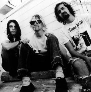 ... kurt cobain Kurt Cobain and Krist Novoselic on Sunday night (August 26