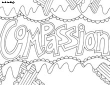 joseph showed compassion colouring pages