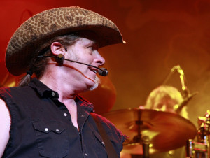 Ted Nugent Performing Live