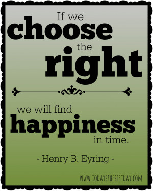 Lds Quotes On Happiness ~ LDS General Conference 2014 Quotes - Today's ...