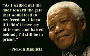 As I Walked Out the Door... Nelson Mandela Quotes