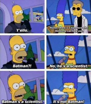 Still one of the best Simpsons quotes