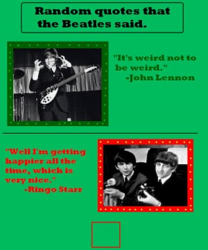 Beatles quotes 2 by BeatlesBug