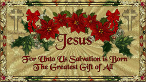 Christianity *Jesus is the Reason For The Season*