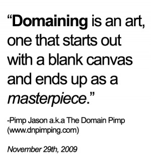 Domain Pimp's Sunday Quote Of The Week