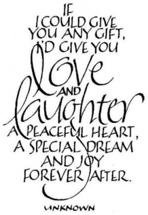 Peaceful Heart A Special Dream And Joy Forever After - Joy Quotes