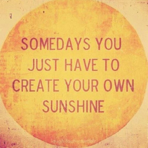 Let it shine....