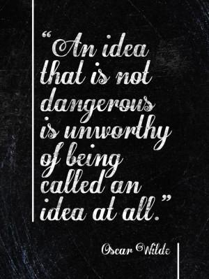 creativity #fancy #font #quote #Wilde #Oscar
