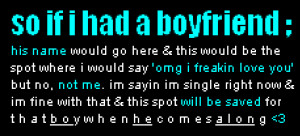 IF I HAD A BOYFRIEND Image