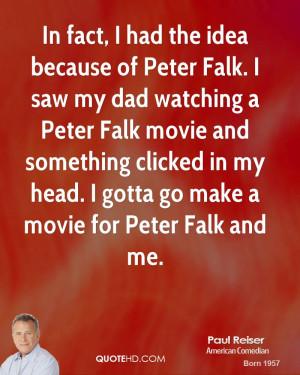 Paul Reiser Dad Quotes