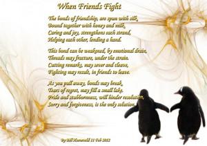 Best Friends Fighting...