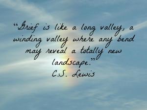 Grief Quote - CS Lewis