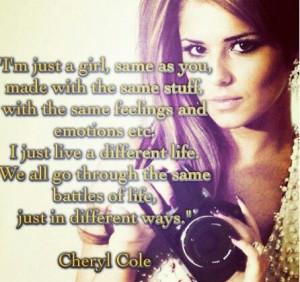 Cheryl Cole quote