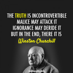 Quotes Suitable for Framing: Winston Churchill