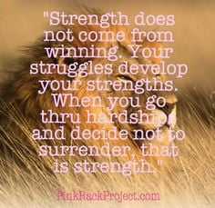 ... , Strength Pinkribbon, Quotes Pinkrackproject, Strength Hope Faith