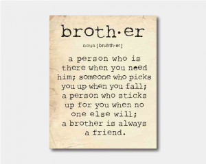 Brotherly Bond Quotes. QuotesGram