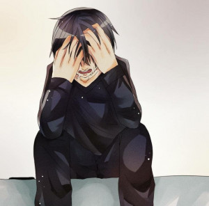 Kirito :( Don't cry