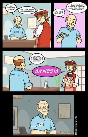 Funny photos funny Pokemon comic amnesia
