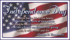 4th JULY, Independence Day Quotes and Poems.