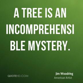 Jim Woodring - A tree is an incomprehensible mystery.