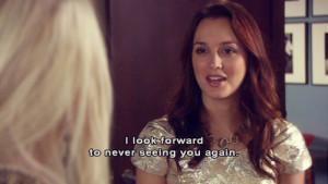 Blair Waldorf Mean Quotes (8)