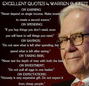 warren buffett quotes integrity quotesgram
