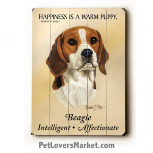 ... Signs with Dog Pictures and Dog Quotes. Features Beagle Dog Breed