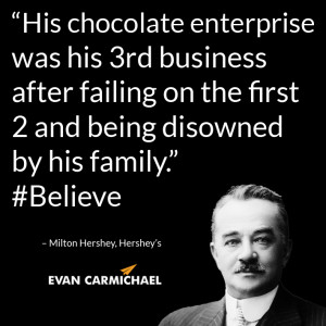 Milton Hershey Quotes