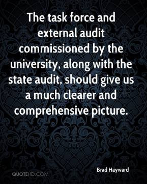 audit commissioned by the university, along with the state audit ...