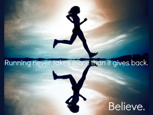 Long Distance Running Quotes I added the quote that i have