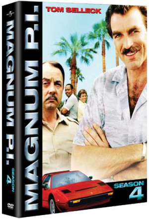 Magnum P.I. DVD - The Complete Fourth Season (Region 1)