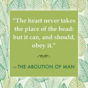 Quote from C.S. Lewis Book...