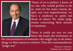 CONFERENCE FLASHBACK: THOMAS S. MONSON.