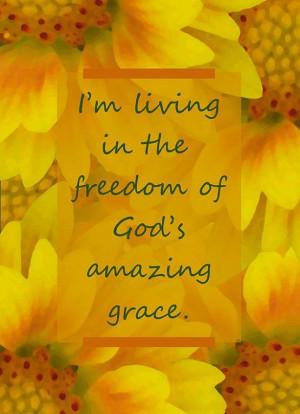 God's amazing Grace!