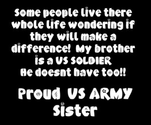 Army sister Image