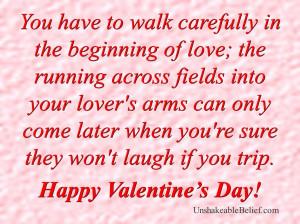 UB Valentines - Walk Carefully -2
