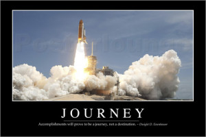 Poster Journey: Inspirational Quote and Motivational Poster von ...