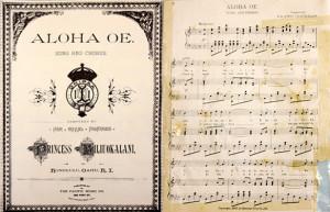 ... Thursday - Aloha 'Oe by Her Royal Highness Princess Liliuokalani