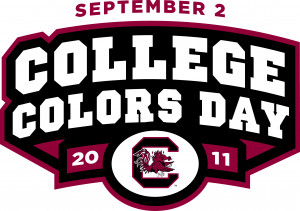 College Colors Day South Carolina.JPG