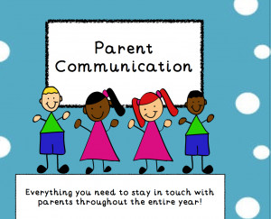 Parent Communication For the Entire Year- ON SALE ONE DAY ONLY!