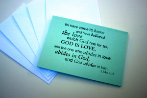 Verses For Wedding (Bible Style)