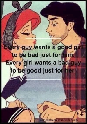 Every girl wants... Every guy wants....