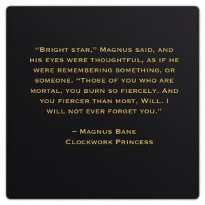 Bane Quotes Magnus bane (clockwork